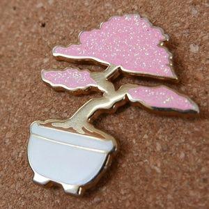 Bonzai Tree Enamel Pin